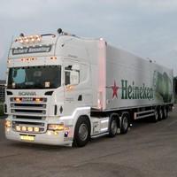 Zonneklep type 1-A voor Scania R-serie