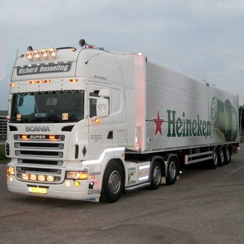 Scania R-serie Zonneklep type 1A