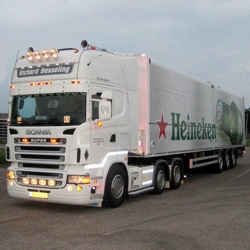 Scania Scania R-serie Zonneklep type 1-A
