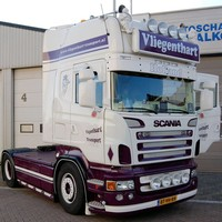 Scania Scania R-serie Zonneklep type 1A