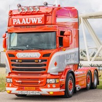 Scania Scania Streamline Zonneklep 2D met lijn