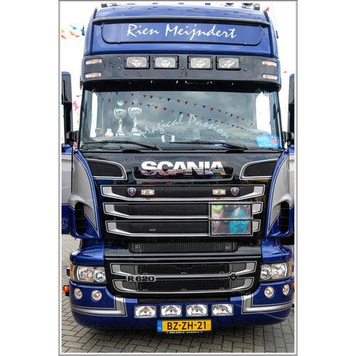 Scania Zonneklep type 3-C voor Scania 4-serie