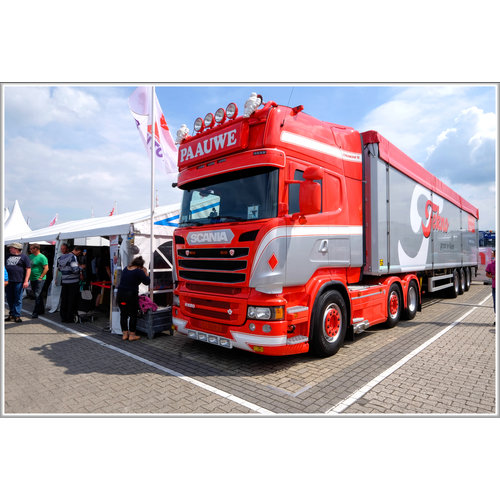 Scania Scania Streamline Zonneklep 2A zonder lijn