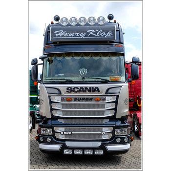 Scania Streamline Zonneklep 2A met lijn