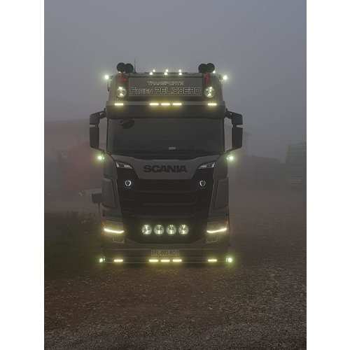 Scania Scania Next Gen LED zonneklep lamp wit