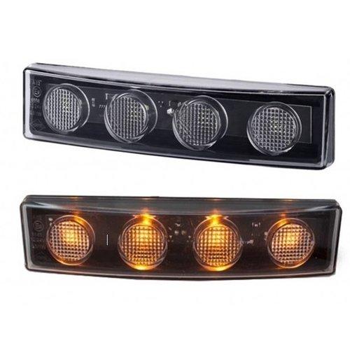 Scania Scania R serie LED zonneklep lamp oranje