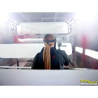 Solar Guard Exclusive Truck Parts Spuitservice RAL Metallic Kleur