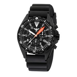 KHS Tactical Watches Missiontimer 3  Operation Timer Chronograph | Diver Strap