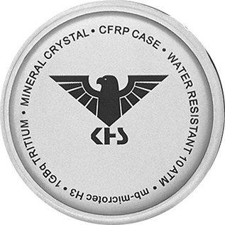 KHS Tactical Watches Taktische Uhren Reaper Natoband Olive | RED HALO H3 Leuchtsystem