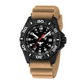 KHS Tactical Watches Red Reaper diver band tan| KHS.RE.DT