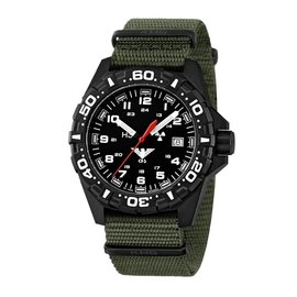 KHS Tactical Watches Red Reaper Nato band Olive