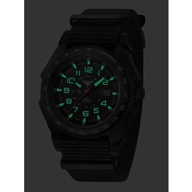 KHS Tactical Watches Sentinel -A- Black Nato Strap Black