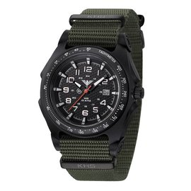 KHS Tactical Watches Sentinel Black A Nato Oliv