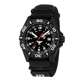 KHS Tactical Watches Red Reaper Nato band XTAC Black