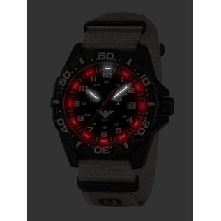 KHS Tactical Watches KHS Einsatzuhr Reaper Natoband XTAC Tan| RED HALO Tritium Leuchtsystem