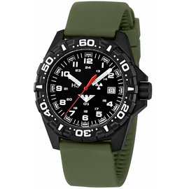 KHS Tactical Watches Reaper  Silikon Armband  Olive KHS.RE.SO