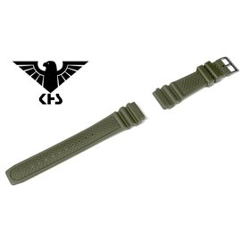 KHS Tactical Watches Original KHS Replacement Wristband | Diver Band | Oliv 20 mm