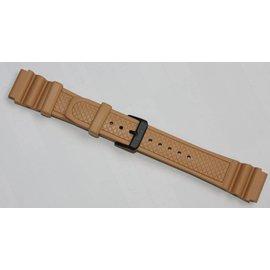 KHS Tactical Watches KHS Taucherband  Tan / Beige
