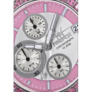 """Firefox Watches  Chronograph """" Pink Lady """""""