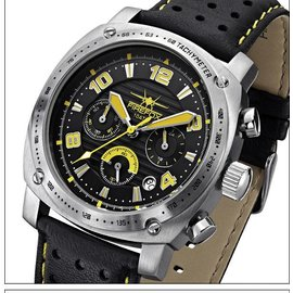 Firefox Watches  FIREFOX BATTLESHIP Men's Chronograph. Pilot Watch FFS22-108 yellow