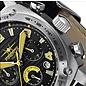 Firefox Watches  FIREFOX BATTLESHIP Herren Chronograph Fliegeruhr FFS22-108 schwarz/gelb