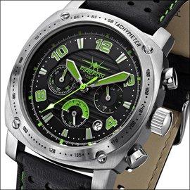 Firefox Watches  BATTLESHIP Herren Chronograph Fliegeruhr |FFS22-115 grün