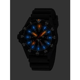 KHS Tactical Watches KHS Shooter GMT | Diver Armband Black