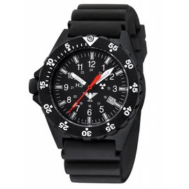 KHS Tactical Watches KHS Shooter with Diver Strap black