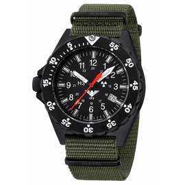 KHS Tactical Watches KHS Shooter mit Natoband Oliv