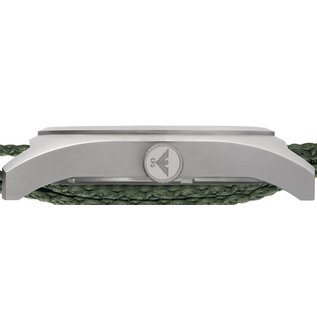 KHS Tactical Watches KHS Inceptor Steel Men's Watch with Green NATO Bracelet KHS.INCS.NO