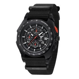 KHS Tactical Watches KHS Sentinel A Chronograph | Nato Black
