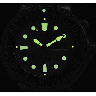 Army Watch Taucheruhr 100 ATM (PU-Band) Schwarzes Zifferblatt