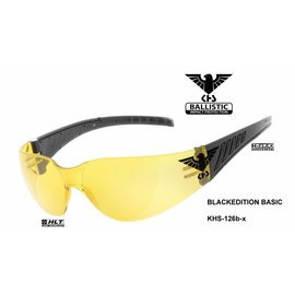 KHS Tactical Optics Taktische Einsatzbrille Basic Yellow