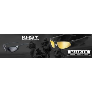 KHS Tactical Optics Yellow Tactical eyewear with padding Ready for Mission