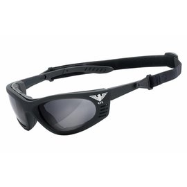 KHS Tactical Optics Grey Tactical goggles with padding KHS-101-a