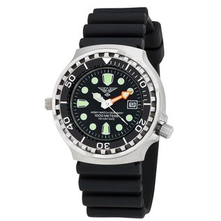 Army Watch Professional Diver 1000 Black