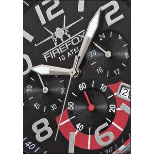 Firefox Watches  Skydiver Edelstahl Chronograph Armbanduhr