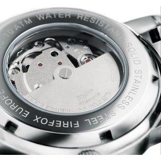 Firefox Watches  Automatik Herrenuhr Kaliber 8205 / schwarz