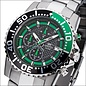 Firefox Watches  FIREFOX ZION Stainless Steel Chronograph 10 ATM / green / FFS17-108b