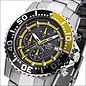 Firefox Watches  ZION Stainless Steel Chronograph 10 ATM / gelb FFS17-109b