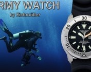 Army Watch Taucheruhren bis 500 Meter