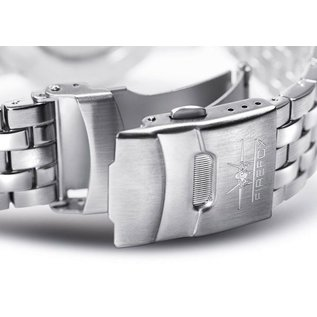 Firefox Watches  Skywolf Stainless Steel Chronograph 10 ATM