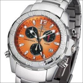 Firefox Watches  Aluminium Chronograph MANDARINE | FFA02-125