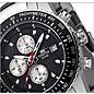 Firefox Watches  FIREFOX Aviator Chronograph Dial black / silver