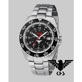 KHS Tactical Watches Enforcer Steel MK3, Edelstahlarmband