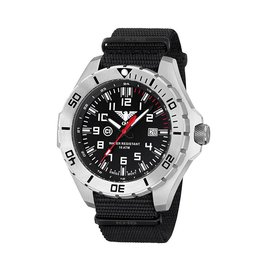 KHS Tactical Watches Special operations Watch Country Leader Steel with Nato Band
