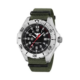 KHS Tactical Watches Special operations Watch Country Leader Steel with Army Band
