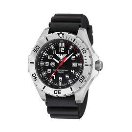 KHS Tactical Watches Landleader Steel mit Diver Band Black