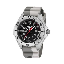 KHS Tactical Watches Country Leader Steel with Camouflage bandtan