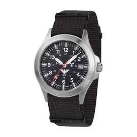 KHS Tactical Watches KHS Platoon H3 Titanium Automatic - Nato Strap KHS.PTA.NB